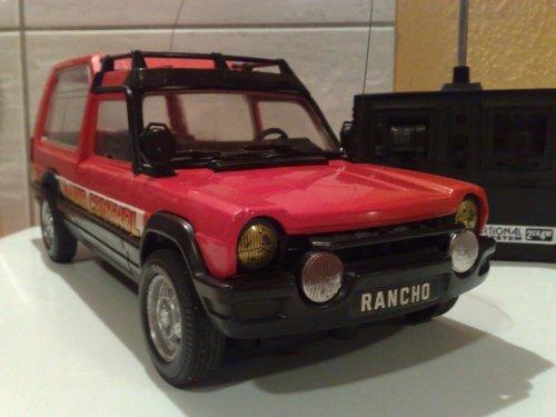Matra Simca Rancho távirányítós autó