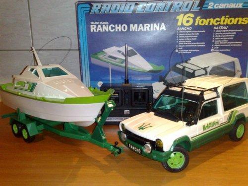 Matra Simca Marina távirányítós autó