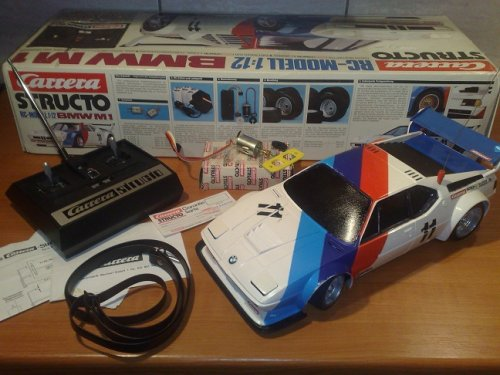 BMW M1 rc carerra modell