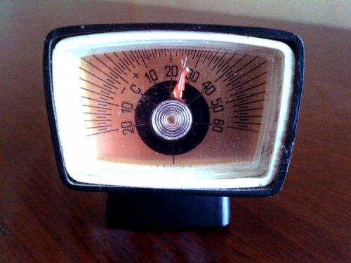Autós hőmérő