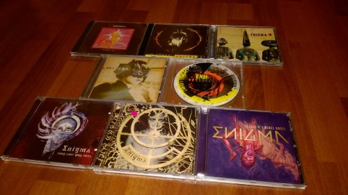 Enigma 1990-2016 studio albumok