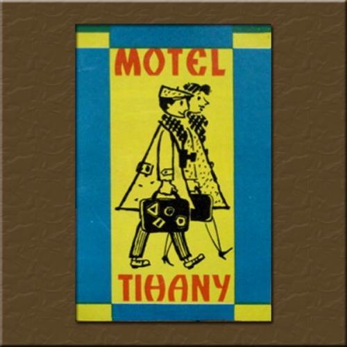 Tihany Motel  bőröndcímke