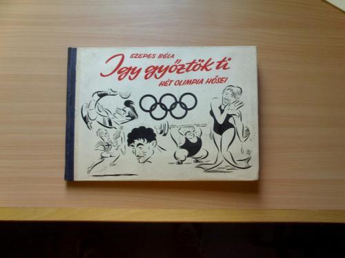 Olimpia karikatúra könyv