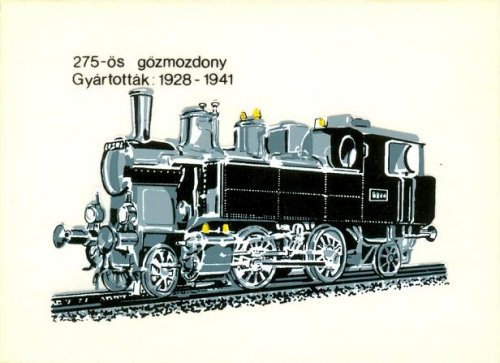 Gőzmozdony 275