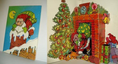 Karácsonyi üdvözlőlap 3D