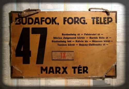 FVV 47-es villamostábla