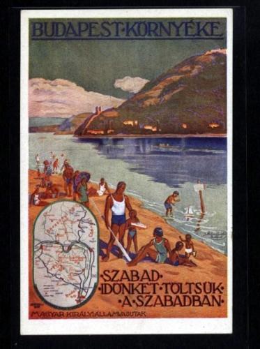 Budapest környéke   plakát