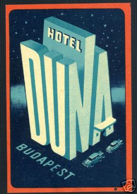 Hotel Duna   BUDAPEST