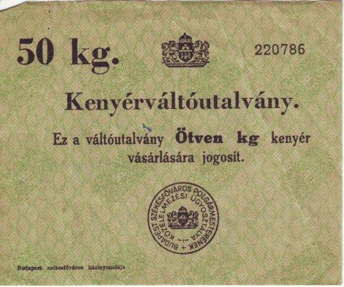 Kenyérváltó 50 kg-hoz