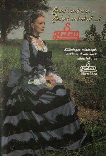S modell reklám / Takács Éva