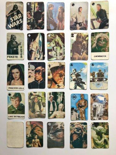 Star Wars Fekete Péter kártya