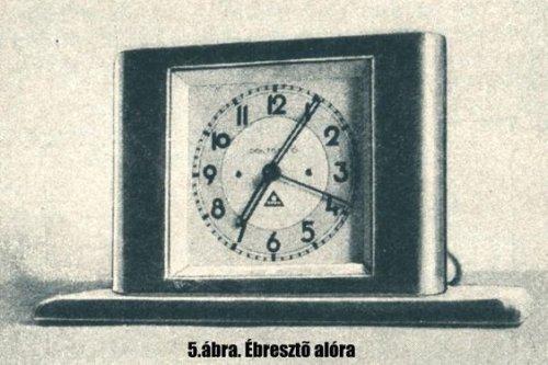 A Telefonhírmondó, Pontos idő szolgálata