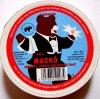 Mackó sajt doboza