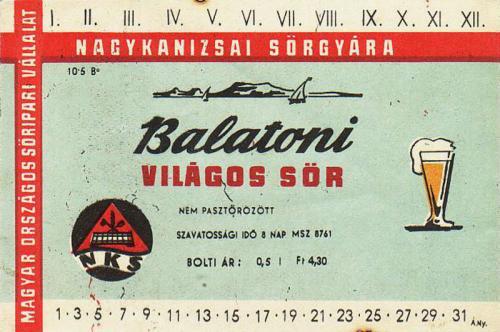 Balatoni Világos sör