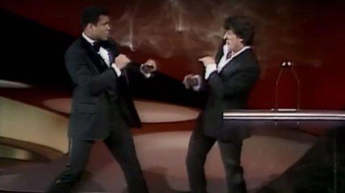 Mohamed Ali & Sylvester Stallone