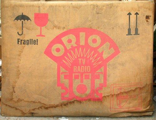 Orion televízió doboz