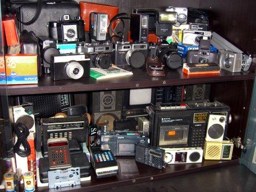 Fényképezők, elektronika