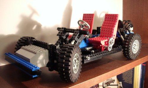 Lego autó