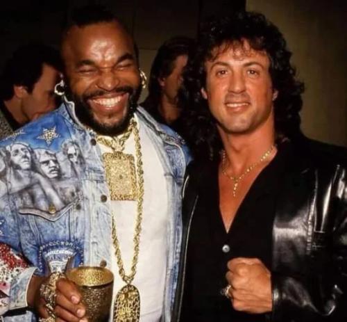 Sly és Mr T, 1983.