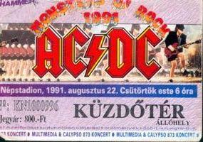AC-DC belépőjegy