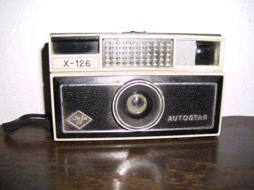 AGFA x-126 box gép