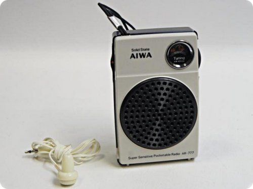 AIWA zsebrádió - AR 777
