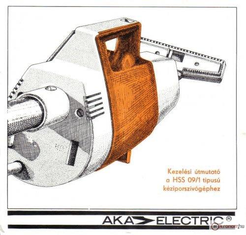 AKA Electric porszívó HSS 09/1