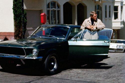 Steve Mcqueen Ford Mustang