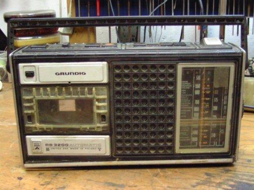 Grundig RB 3200 rádiós magnó