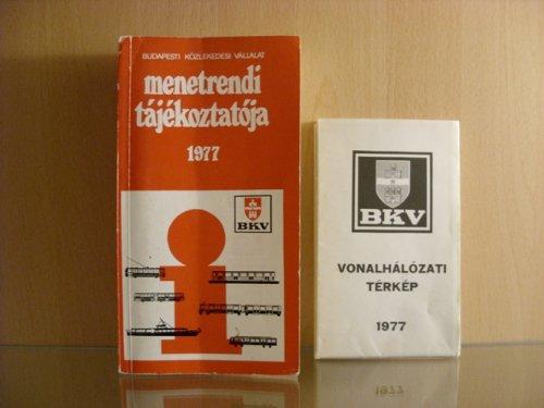 BKV menetrend 1977