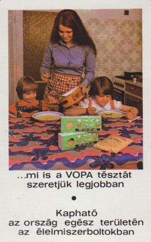 VOPA tészták