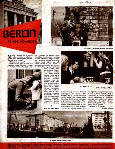 Berlin az NDK fővárosa