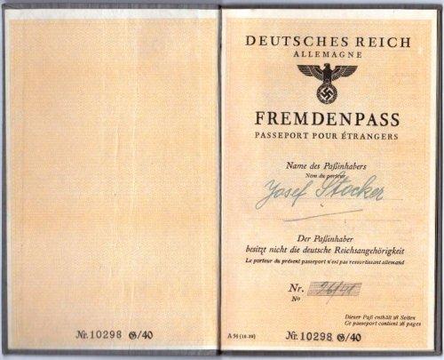 Német Birodalmi útlevél