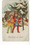 Boldog új évet képeslap