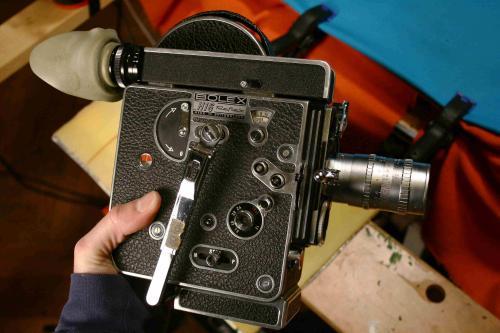 Bolex 16mm film kamera