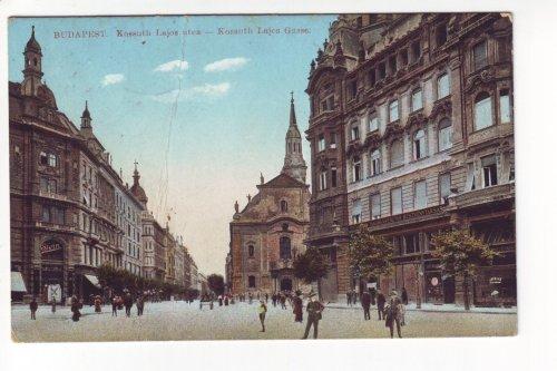 Kossuth Lajos utca képeslap