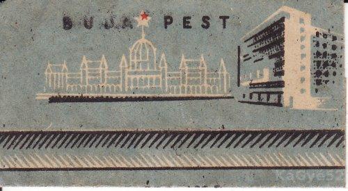 Budapest csokipapír
