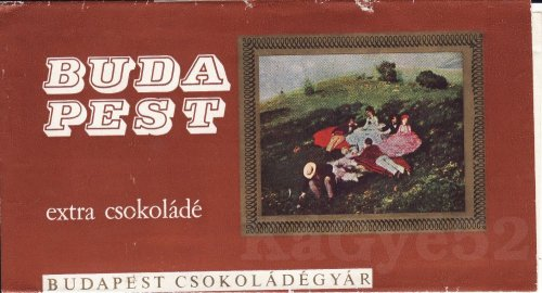 Budapest extra csokoládé