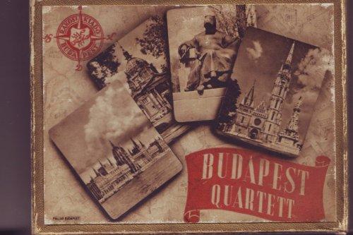 Budapest quartett kártya doboz