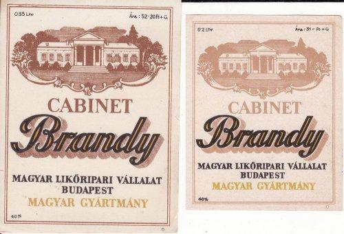 Brandy italcímke