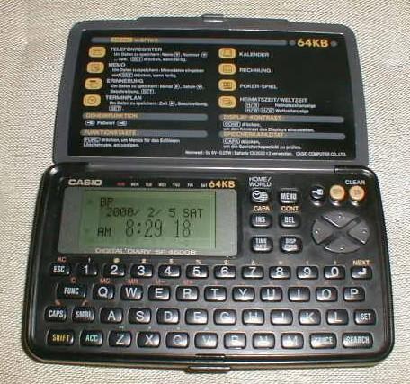 Casio manager kalkulátor (64 kB)
