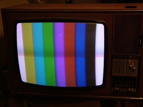 Munkácsy Color televízió mullard CRT