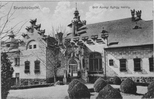 Szurdokpüspöki Aponyi kastély