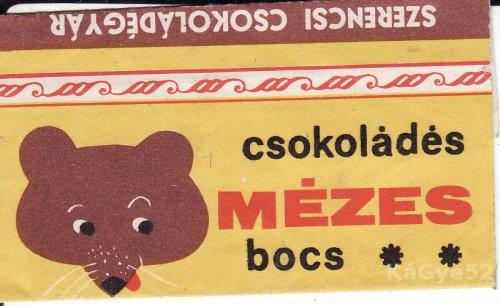 Mézes bocs csokipapír