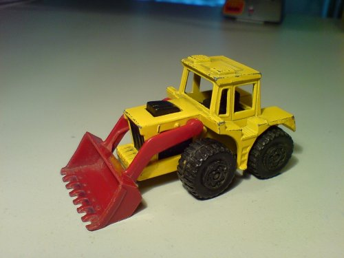 Matchbox tractor shovel