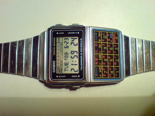 Casio kvarcóra Data Bank DBC-610