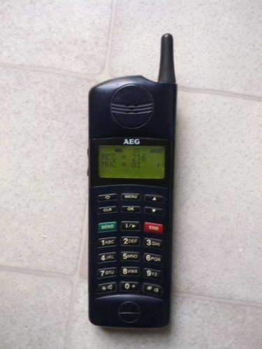AEG HT-901 RETROMOBIL 1995-böl