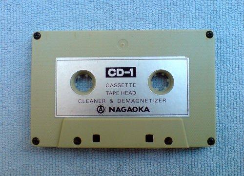 NAGAOKA CD-1 fejtisztító és demagnetizáló kazetta