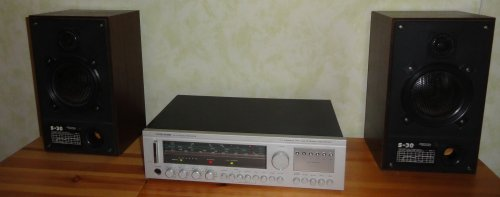 Videoton RA 6363S FM AM Stereo Receiver, Radiotehnika S-30B