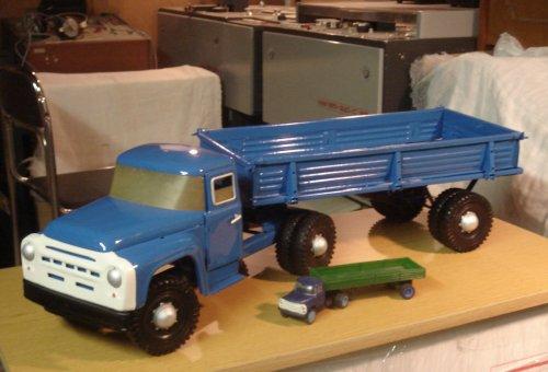 ZIL teherautó - fém játék